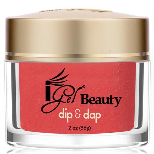 iGel Dip & Dap Powder - DD111 CORAL GLOW 2oz