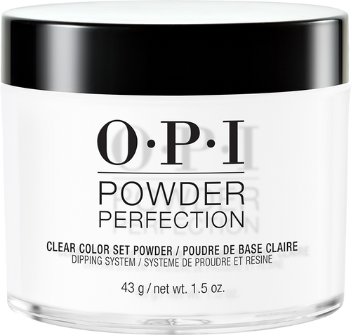 20% OFF - OPI Dipping Powders - #DP003 Clear Color Set Powder 1.5 oz