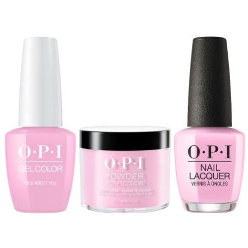 OPI COMBO 3 in 1 Matching - GCB56A-NLB56-DPB56 Mod About You