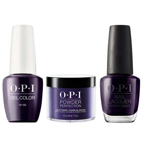 OPI COMBO 3 in 1 Matching - GCB61A-NLB61-DPB61 OPI Ink