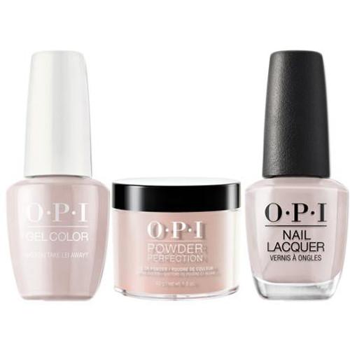 OPI COMBO 3 in 1 Matching - GCH67A-NLH67-DPH67 Do You Take Lei Away?
