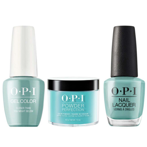 OPI COMBO 3 in 1 Matching - GCL24-NLL24-DPL24 Closer Than You Might Bel?m