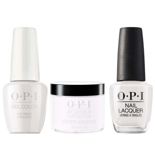 OPI COMBO 3 in 1 Matching - GCL26-NLL26-DPL26 Suzi Chases Portu-geese