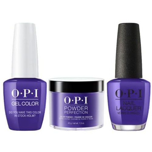 OPI COMBO 3 in 1 Matching - GCN47A-NLN47-DPN47 Do You Have This Color in Stock-holm?