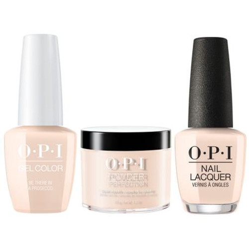 OPI COMBO 3 in 1 Matching - GCV31A-NLV31-DPV31 Be There in a Prosecco