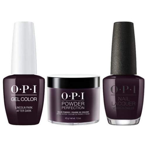 OPI COMBO 3 in 1 Matching - GCW42A-NLW42-DPW42 Lincoln Park After ...