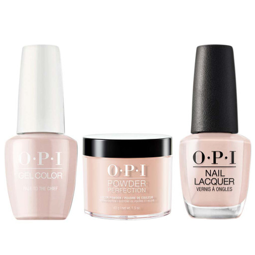 OPI COMBO 3 in 1 Matching - GCW57A-NLW57-DPW57 Pale to the Chief