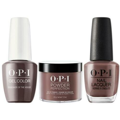 OPI COMBO 3 in 1 Matching - GCW60A-NLW60-DPW60 Squeaker of the House