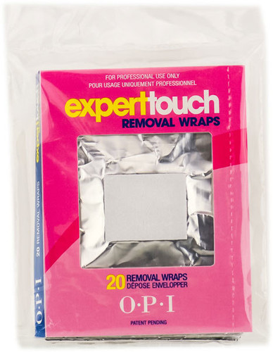 OPI Expert Touch Removal Wraps Bag- 20pcs  (On Sale)
