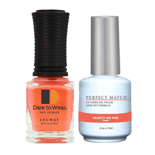 PERFECT MATCH Gel Polish + Lacquer - PMS229 HEARTS ON FIRE - Indie Fest Collection
