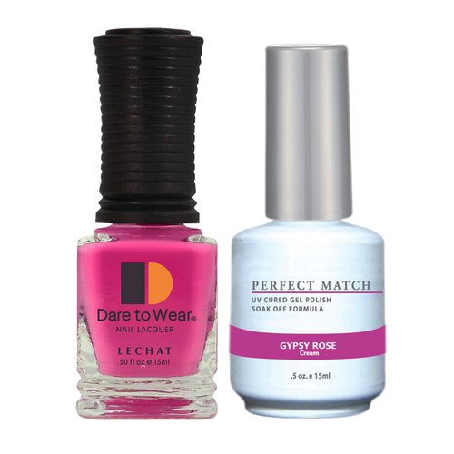 PERFECT MATCH Gel Polish + Lacquer - PMS234 GYPSY ROSE - Indie Fest Collection