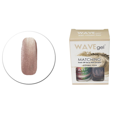 WaveGel Matching S/O Gel & Nail Lacquer - W201 Cosmic Flux .5oz