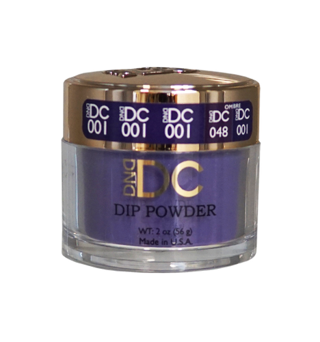 DND DC Dipping Powder - #001  INKY POINT