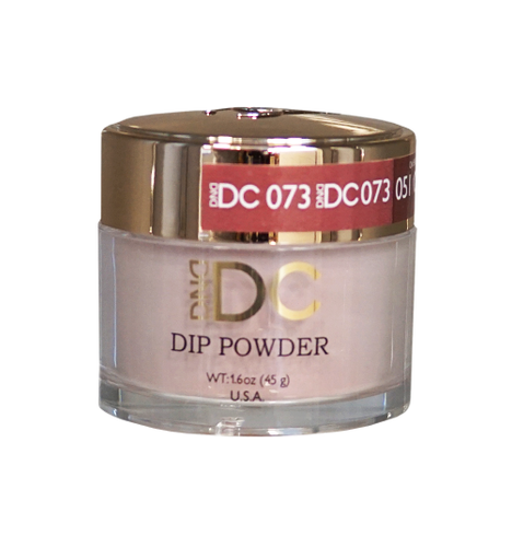 DND DC Dipping Powder - #073  DUSTY CORAL