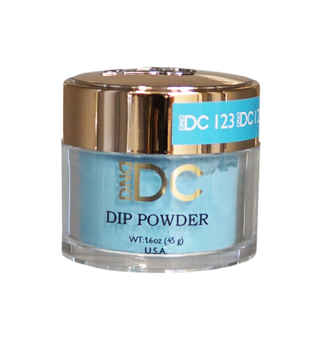 DND DC Dipping Powder - #123  CORNFLOWER BLUE