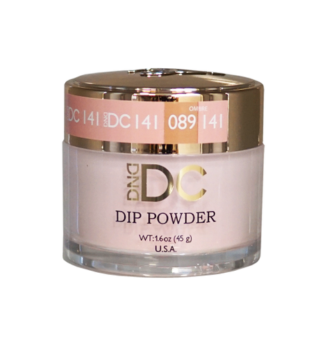 DND DC Dipping Powder - #141  PINK CHAMPAGNE