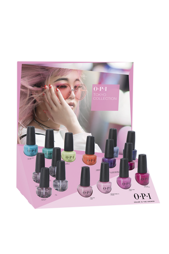 OPI Nail Lacquer - #DCT53 Tokyo Collection Edition B - 16pc Chipboard Display