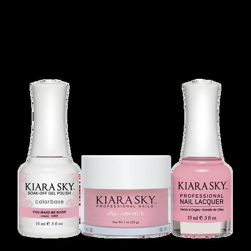 Kiara Sky 3in1(GEL+LQ+Dip) - #405 YOU MAKE ME BLUSH