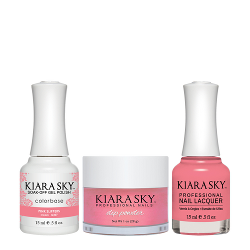 Kiara Sky 3in1(GEL+LQ+Dip) - #407 BALLET SLIPPERS