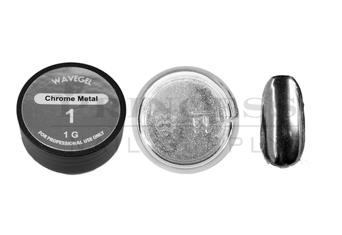 WaveGel Chrome Metal Powder 1g - #01 Silver