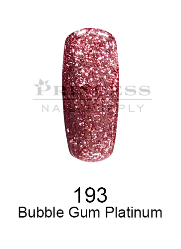 DND DC Platinum Gel - 193 Bubble Gum Platinum .6 oz