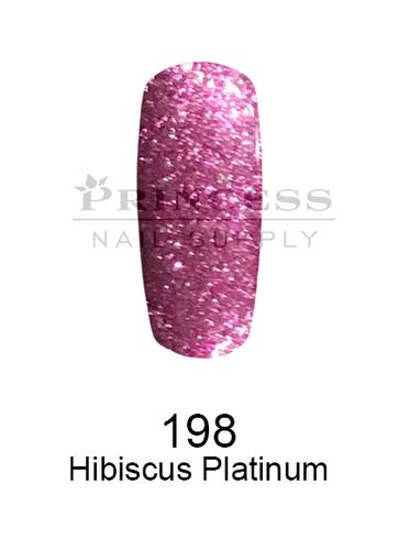 DND DC Platinum Gel - 198 Hibiscus Platinum .6 oz