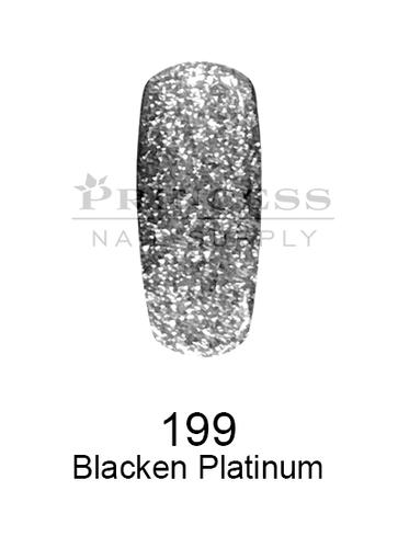 DND DC Platinum Gel - 199 Blacken Platinum .6 oz