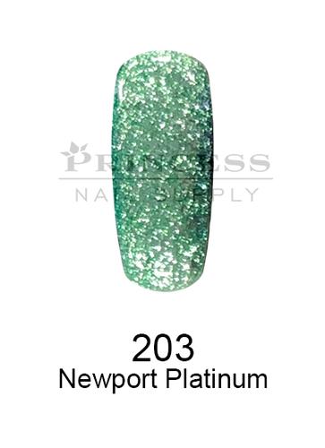 DND DC Platinum Gel - 203 Newport Platinum .6 oz