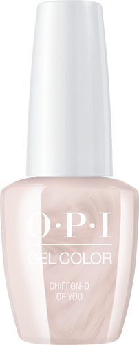 OPI GelColor - #GCSH3 Chiffon-d of You - Always Bare For You Collection .5 oz