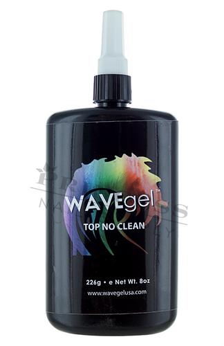 WaveGel No-Clean Top Coat S/O Gel Refill 8 oz