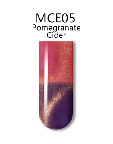 iGel 3D Mood Cat Eye Gel Polish - #MCE05 Pomegranate Cider .5 oz