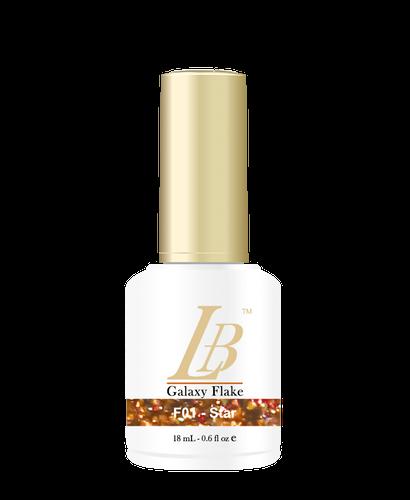 LB Galaxy Flake Gel - #F01 Star .6 oz
