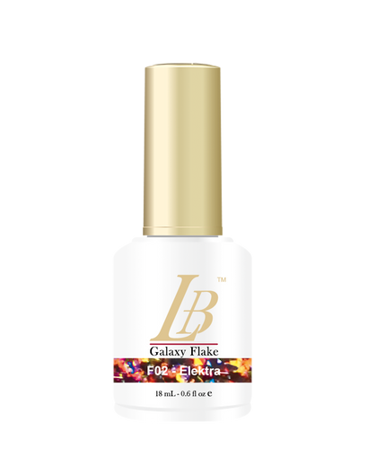 LB Galaxy Flake Gel - #F02 Elektra .6 oz