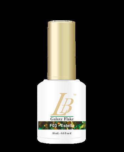 LB Galaxy Flake Gel - #F03 Estella .6 oz