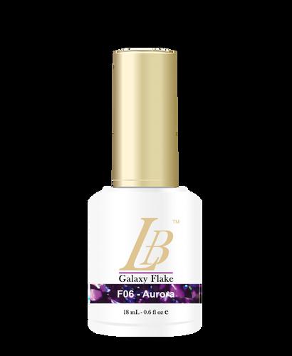 LB Galaxy Flake Gel - #F06 Aurora .6 oz