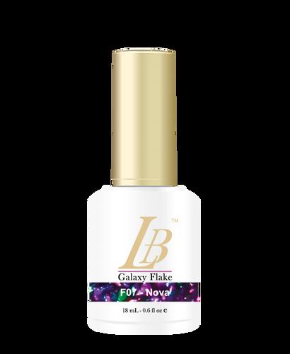 LB Galaxy Flake Gel - #F07 Nova .6 oz