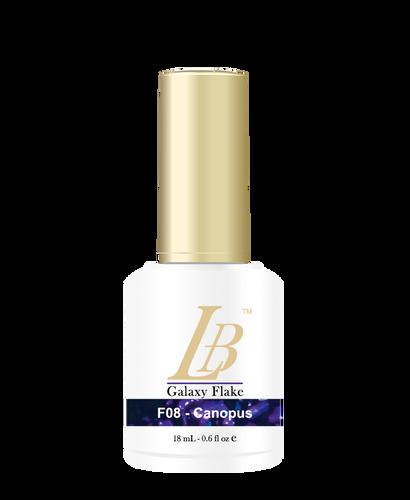 LB Galaxy Flake Gel - #F08 Canopus .6 oz