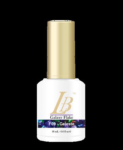 LB Galaxy Flake Gel - #F09 Celeste .6 oz