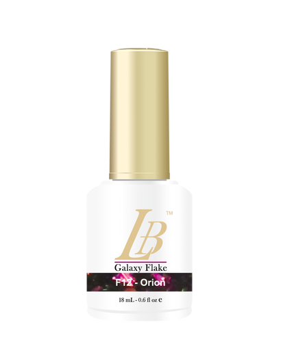 LB Galaxy Flake Gel - #F12 Orion .6 oz