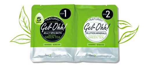 Avry GEL-OHH! Natural Jelly Spa Pedicure Set - GREEN TEA