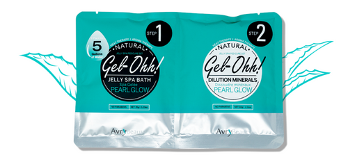 Avry GEL-OHH! Natural Jelly Spa Pedicure Set - PEARL GLOW