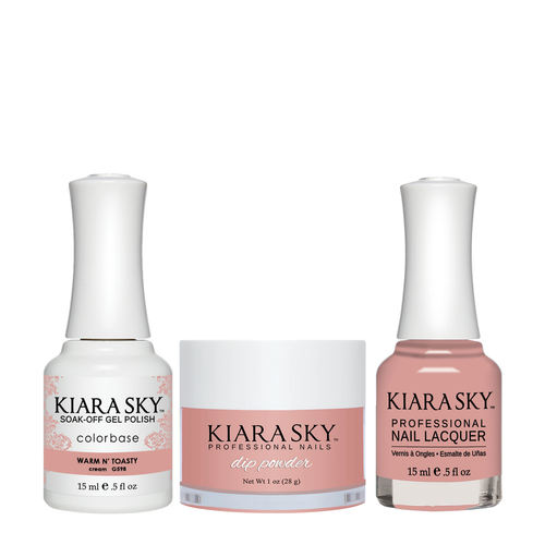 Kiara Sky 3in1(GEL+LQ+Dip) - #598 Warm N' Toasty