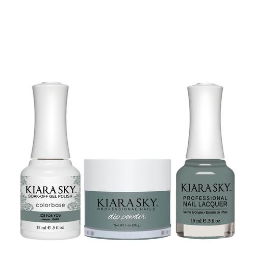 Kiara Sky 3in1(GEL+LQ+Dip) - #602 Ice For You