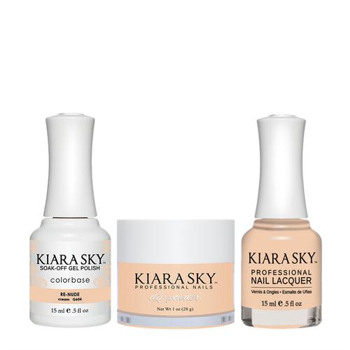 Kiara Sky 3in1(GEL+LQ+Dip) - #604 Re-nude