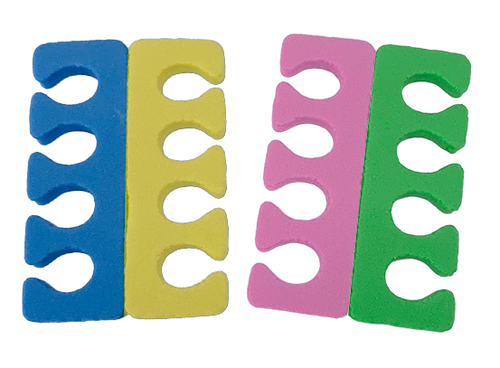 PND Toe Separators Multi Color - 100 Pairs (EVA)