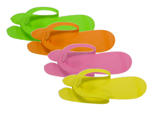 PND Pedicure Slippers - Fold Type (Not folded yet) - 12 Pairs/bag