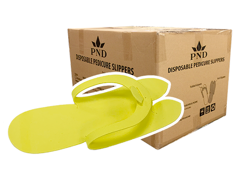 PND Pedicure Slippers - Fold Type  - Case/360pairs