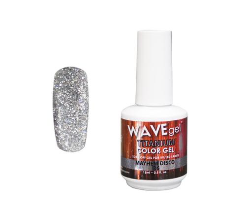 WaveGel Titanium Color Gel - #36 Mayhem Disco .5 oz