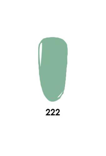 WaveGel Matching S/O Gel & Nail Lacquer - W222 Cobra Nest .5oz