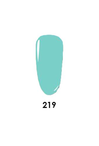 Wavegel 3in1 Matching (GEL+LACQUER+DIP) - #219(W219) ELSA CASTLE